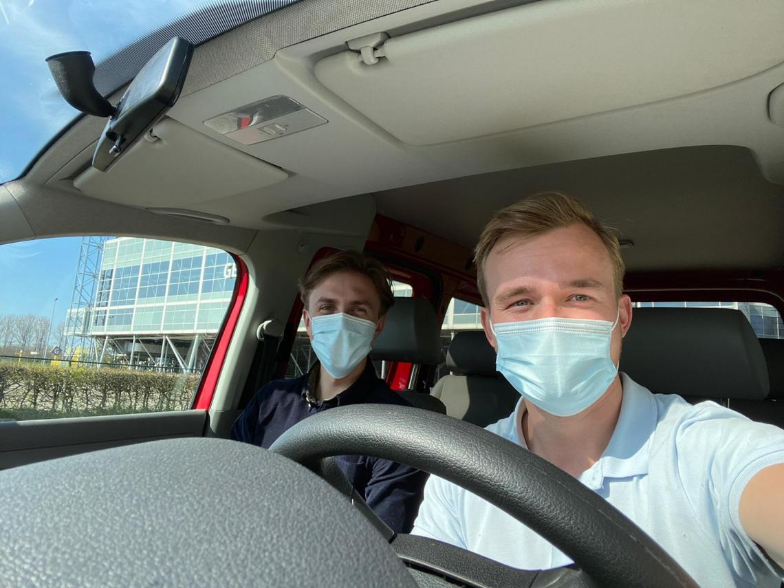 Het GGD-rijdend team: voor als je echt niet naar de testlocatie kunt