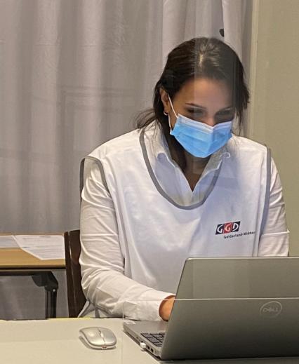 Samiena Alidjan: van frontlinie op de IC tot eerste vaccinatiearts